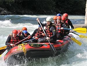 challenge rafting méribel