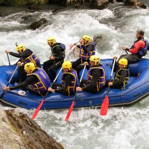 rafting méribel