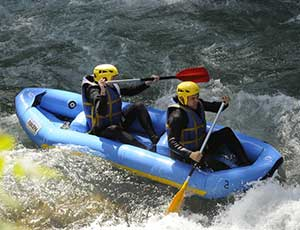 Rafting Méribel
