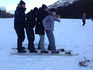 snow challenge méribel