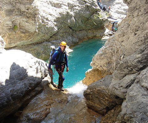 canyoning méribel